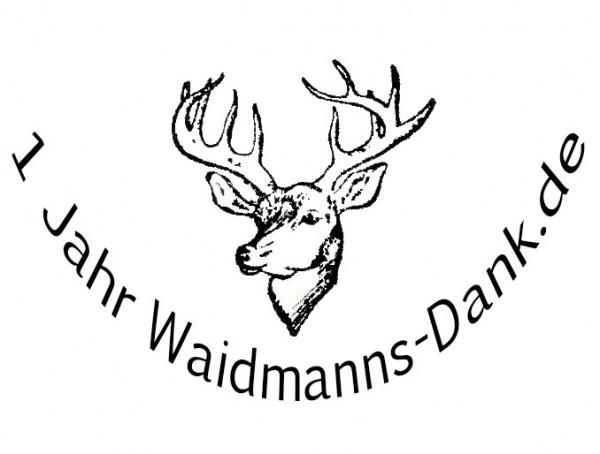 1 Jahr Waidmanns-Dank.de