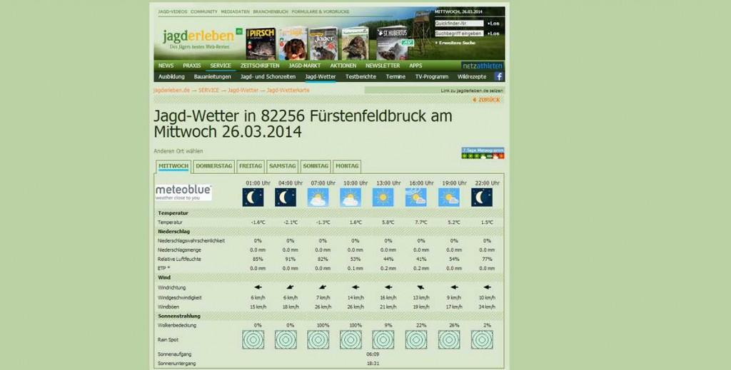 Wetter_Jagderleben