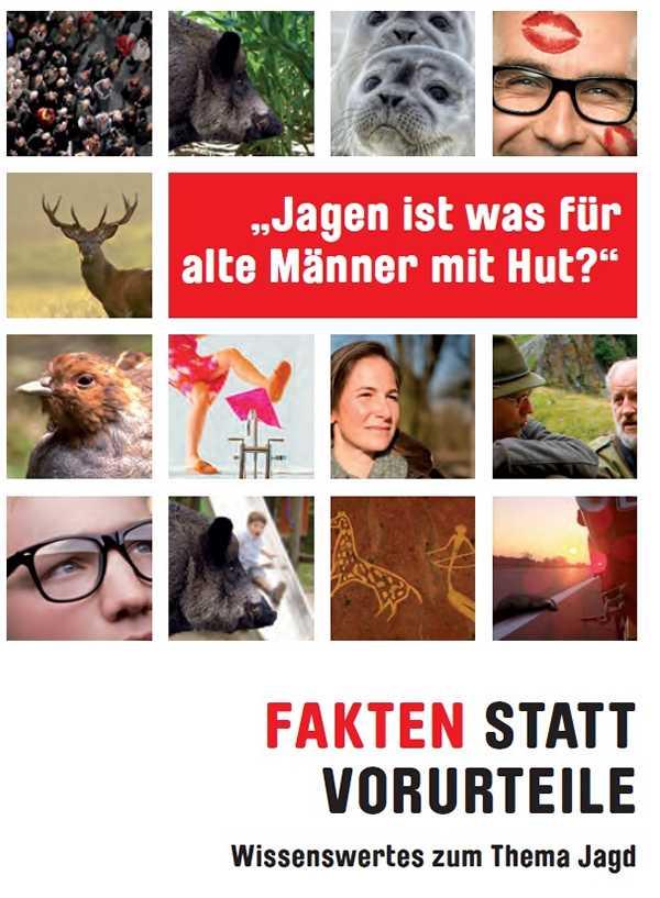 Broschüre vom Deutschen Jagdverband – Fakten statt Vorurteile
