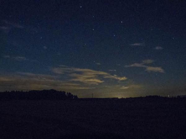 Ansitz unterm Sternehimmel