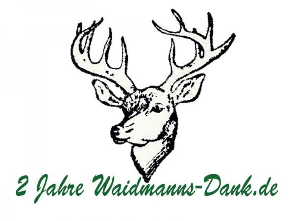 2 Jahre Waidmanns-Dank.de