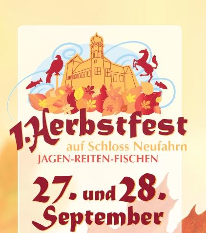 Herbstfest auf Schloss Neufahrn