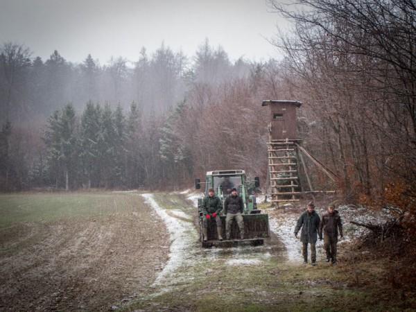 Zusammenarbeit mit den Landwirten