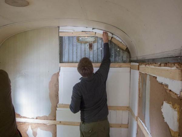 bauwagen renovierung teil 4 waidmanns dank. Black Bedroom Furniture Sets. Home Design Ideas