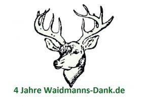 4 Jahre Waidmanns-Dank.de