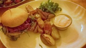 Wildschweinburger