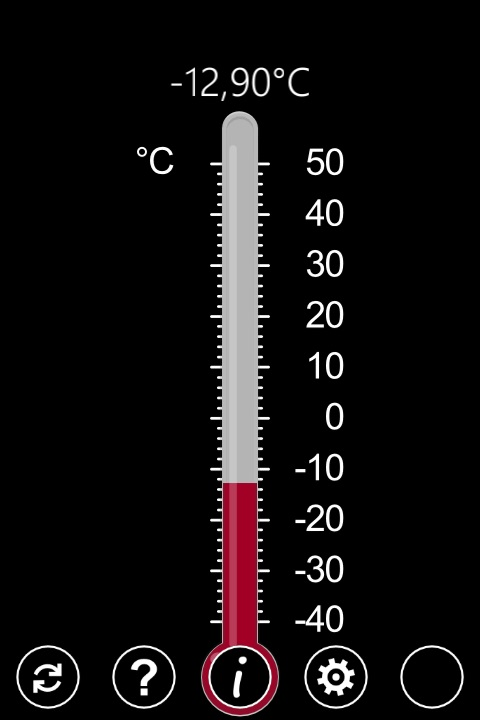 GPS Thermometer