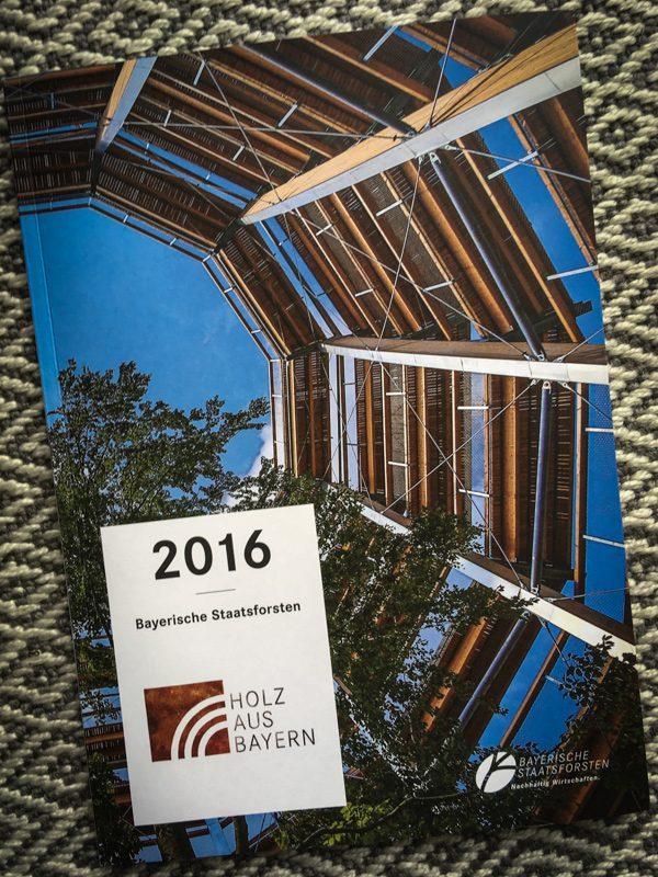 Jahresbericht 2016 der Bayerischen Staatsforsten