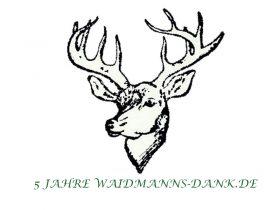5 Jahre Waidmanns-Dank.de