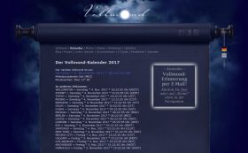 Vollmond Kalender