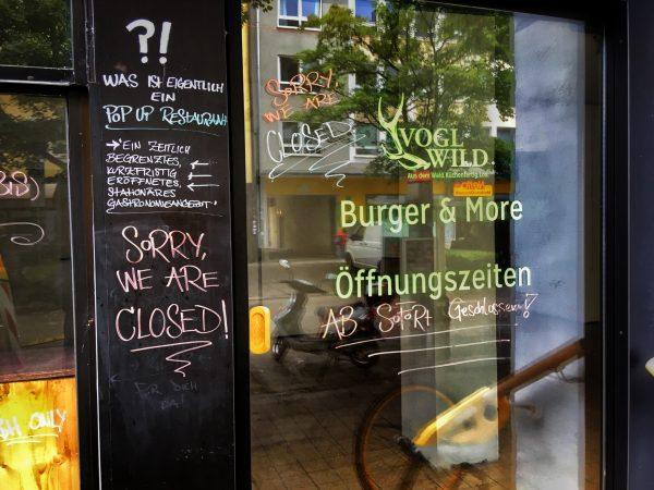Keine Burger mehr