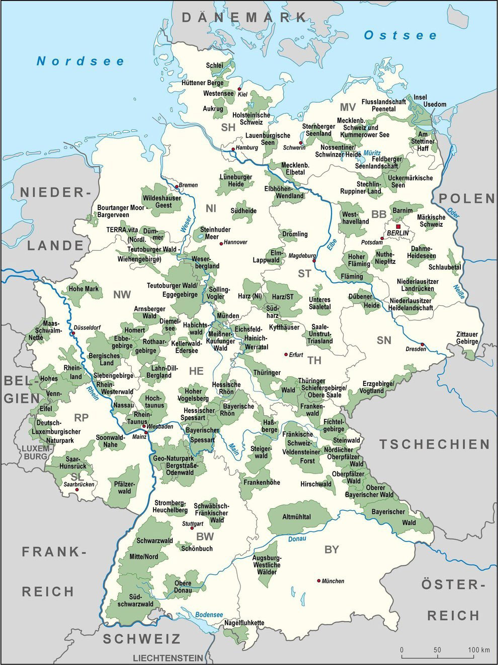 Nationalparks in Deutschland