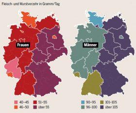 Fleischverzehr in Deutschland