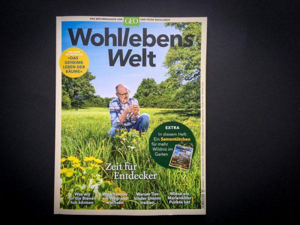 """GEO – Naturmagazin """"Wohllebens Welt""""- Ausgabe 2"""